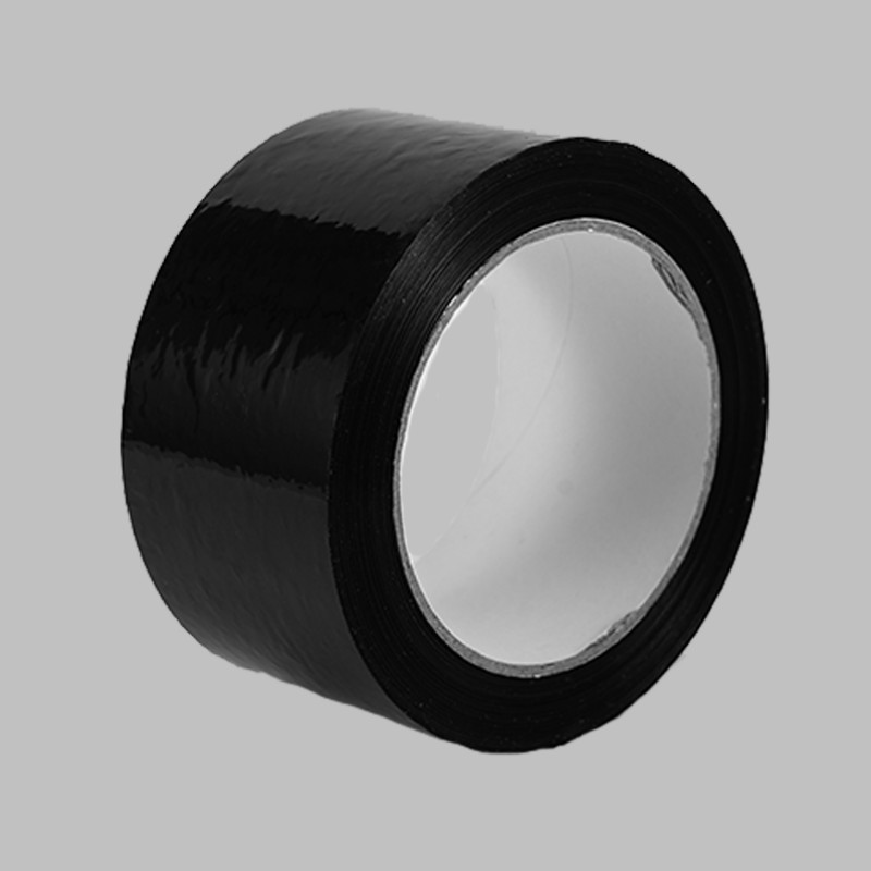 BOPP black tape, sealing black tape, sealing